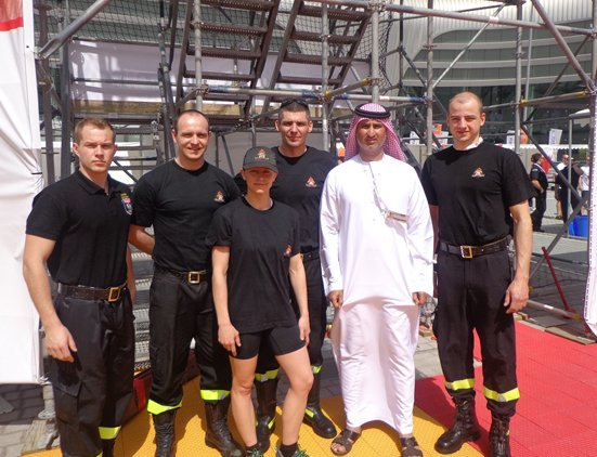 UAE 2014 World Firefighter Challenge